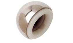 規格齊全,從39mm到55mm每隔1mm一個規格;44mm以上配合獨特的防脫位卡環能有效的防止脫位;自動中心化設計使臼杯始終處于中立位,避免碰撞引起脫位。